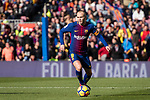 Andres Iniesta of FC Barcelona in action during the La Liga 2017-18 match between FC Barcelona and RC Celta de Vigo at Camp Nou Stadium on 02 December 2017 in Barcelona, Spain. Photo by Vicens Gimenez / Power Sport Images