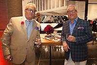 Matt & Mark Harris attend Hearst Mens Group + TUDOR on Oct 2, 2014 (Photo by Martin Lambert/Guest Of A Guest)