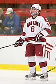 Ryan Grimshaw (Harvard - 6) - The Boston University Terriers defeated the Harvard University Crimson 6-5 in overtime on Tuesday, November 24, 2009, at Bright Hockey Center in Cambridge, Massachusetts.