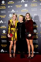 Ada Hegerberg  - leur mere et Andrine Hegerberg<br /> Parigi 3-12-2018 <br /> Arrivi Cerimonia di premiazione Pallone d'Oro 2018 <br /> Foto JB Autissier/Panoramic/Insidefoto <br /> ITALY ONLY
