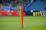 10.03.2018, Vonovia Ruhrstadion, Bochum, GER, 2.FBL., VfL Bochum vs. Holstein Kiel<br /> im Bild / picture shows: <br /> Feature  Stage auf dem Spielfeld <br /> <br /> <br /> <br /> Foto &copy; nordphoto / Meuter