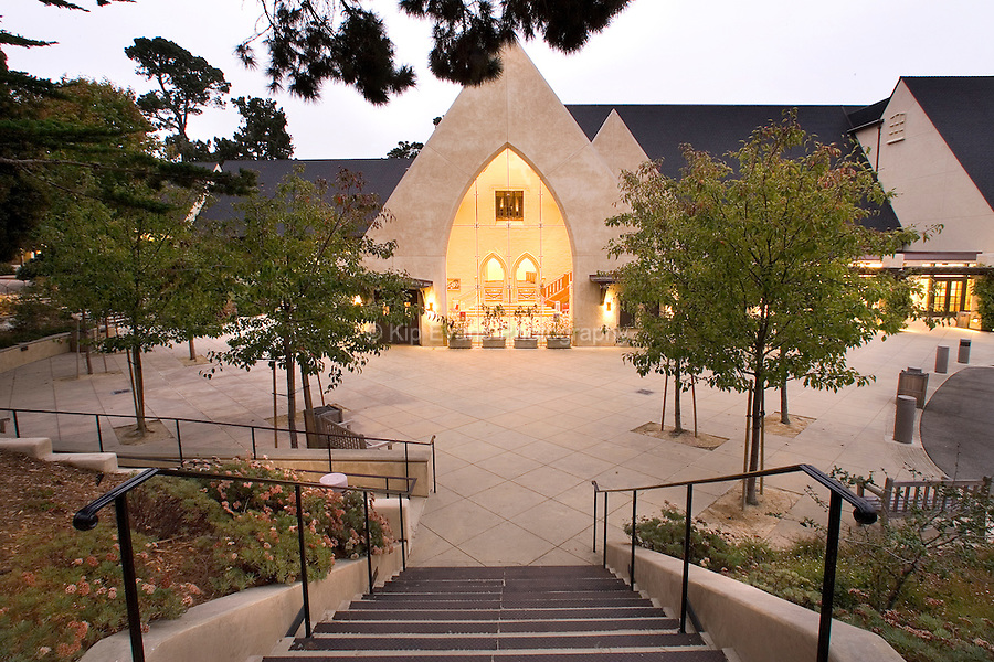 Sunset Center performance theatre in Carmel, California.