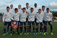 Lakewood Ranch, Fla. - December 11, 2013: 2013 US Soccer U17 Nike International Friendlies. The USMNT U17's defeated the U17's from England 5-1 at the Premier Sports Campus.