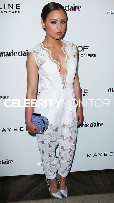 WEST HOLLYWOOD, CA, USA - APRIL 08: Aimee Carrero at the Marie Claire Fresh Faces Party Celebrating May Cover Stars held at Soho House on April 8, 2014 in West Hollywood, California, United States. (Photo by Celebrity Monitor)
