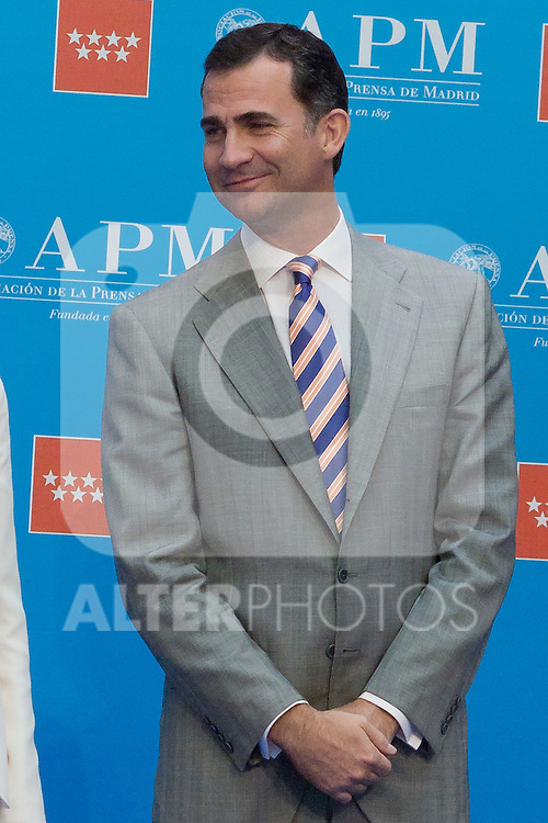 05.06.2012. Prince Felipe of Spain and Princess Letizia of Spain Attens Awards The Press Association of Madrid 2011 in the Real Casa de Correos. In the image image Prince Felipe (Alterphotos/Marta Gonzalez)