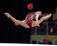 September 10, 2018 - Sofia, Bulgaria - ALEKSANDRA SOLDATOVA of Russia performs during AA qualifications at 2018 World Championships.