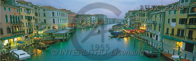 Dr. Xiong, LANDSCAPES, panoramic, photos, Venice evening, Italy(AUJXP203,#L#)