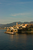 Corsica. Bastia.  Old town and harbor/harbour...