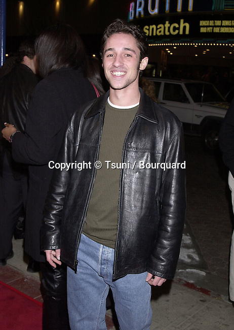 Feb 07, 2001; Arrival at the 1ere of &quot; Saving Silverman &quot; in Los Angeles<br /> <br /> Thomas Nicolas (American Pie I and II)          -            Nicolas.Thomas.01.jpg