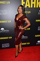 LOS ANGELES, CA. September 19, 2018: Omarosa Manigault Newman at the Los Angeles premiere for Michael Moore's &quot;Fahrenheit 11/9&quot; at the Samuel Goldwyn Theatre.<br /> Picture: Paul Smith/Featureflash