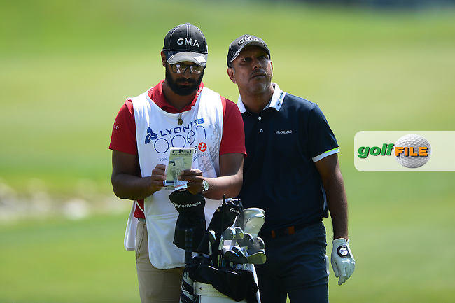 Jeev Milkha Singh of India during Round 2 of the Lyoness Open, Diamond Country Club, Atzenbrugg, Austria. 10/06/2016<br /> Picture: Richard Martin-Roberts / Golffile<br /> <br /> All photos usage must carry mandatory copyright credit (&copy; Golffile | Richard Martin- Roberts)