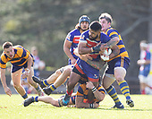 Counties Manukau Premier 2 Bob Chandler Memorial Trophy Rugby Final between Ardmore Marist and Patumahoe, played at Navigation Homes Stadium on Saturday July 20th 2019.Ardmore Marist won the Bob Chandler Memorial Trophy 62- 12 after leading 38 - 7 at halftime.<br /> <br /> Photo by Richard Spranger.