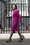 © Joel Goodman - 07973 332324 . 11/05/2015 . London , UK . THERESA VILLERS arrives at 10 Downing Street this afternoon (11th May 2015) . Photo credit : Joel Goodman