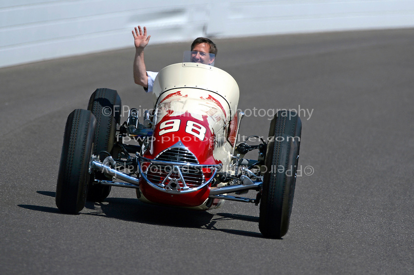 29 May, 2016, Indianapolis, Indiana, USA<br /> John Andretti, 1952 Agajanian Special<br /> &copy;2016, F. Peirce Williams