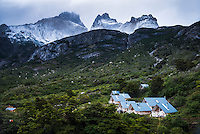 Los Cuernos Refuge, Torres del Paine National Park, Chile