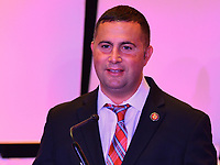 Washington, DC - March 6, 2019: U.S. Rep. Darren Soto speaks at Legislative Summit co-hosted by The Latino Coalition and Job Creators Network at the Park Hyatt Hotel in Washington, D.C. March 6, 2019.  (Photo by Don Baxter/Media Images International)