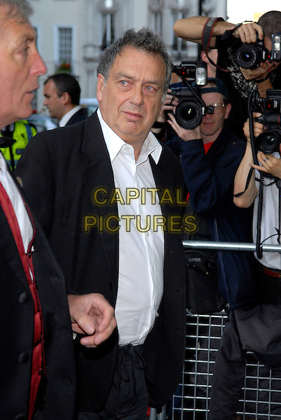 STEPHEN FREARS.Arrivals at the 4th Annual Glamour Women Of The Year Awards, Berkely Square Gardens, London, England. .June 5th 2007.half length black suit jacket .CAP/FIN.©Steve Finn/Capital Pictures