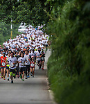 Runners compete at the Wings for Life World Run on May 4, 2014 in Hualien, Taiwan. Photo by Victor Fraile / Power Sport Images