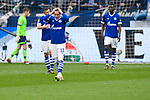 16.03.2019, VELTINS Arena, Gelsenkirchen, Deutschland, GER, 1. FBL, FC Schalke 04 vs. RB Leipzig<br /> <br /> DFL REGULATIONS PROHIBIT ANY USE OF PHOTOGRAPHS AS IMAGE SEQUENCES AND/OR QUASI-VIDEO.<br /> <br /> im Bild Schalke um Sebastian Rudy (#13 Schalke) enttäuscht / enttaeuscht / traurig nach 0-1 Leipzig<br /> <br /> Foto © nordphoto / Kurth
