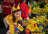 Tet In Seattle,  Vietnamese New Year Festival 2020, Seattle Center, WA, USA.