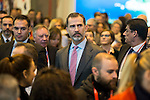 King Felipe VI of Spain during his visit to FITUR 2017 at IFEMA in Madrid, Spain. January 18, 2017. (ALTERPHOTOS/BorjaB.Hojas)
