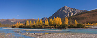 Koyukuk river and Mount Dillon, Brooks Range, Arctic, Alaska