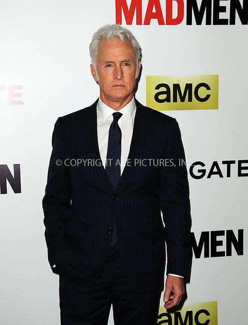 WWW.ACEPIXS.COM<br /> <br /> April 2 2014, LA<br /> <br /> John Slattery arriving at AMC's 'Mad Men' Season 7 premiere at ArcLight Cinemas on April 2, 2014 in Hollywood, California<br /> <br /> By Line: Peter West/ACE Pictures<br /> <br /> <br /> ACE Pictures, Inc.<br /> tel: 646 769 0430<br /> Email: info@acepixs.com<br /> www.acepixs.com