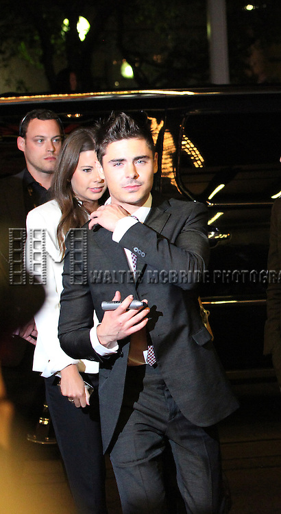 Zach Efron attending the The 2012 Toronto International Film Festival.Red Carpet Arrivals for 'At Any Price' at the Princess of Wales Theatre in Toronto on 9/9/2012