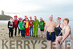 Launching the  annual Connie Hartnett Memorial New Year Swim in Ballybunion at 1pm were Christy Corbert, Kathleen Hartnett, Mary Murphy with Martina McAuliffe, James Hartnett, Linda Ryan, Shamus Lane, daniel mcauliffe, Mike Barry, Conor Hartnett, Siobhan Quill, Lee Hartnett, Ruth Corbert