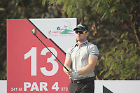 Jens Dantorp (SWE) in action on the 13th during Round 2 of the Hero Indian Open at the DLF Golf and Country Club on Friday 9th March 2018.<br /> Picture:  Thos Caffrey / www.golffile.ie<br /> <br /> All photo usage must carry mandatory copyright credit (&copy; Golffile | Thos Caffrey)