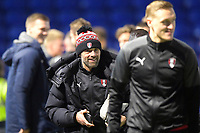 Rotherham United Manager Paul Warne during Portsmouth vs Rotherham United, Sky Bet EFL League 1 Football at Fratton Park on 26th November 2019