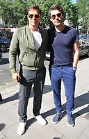 Paul Sculfor and Robert Konjic at the LFW (Men's) s/s 2019 What We Wear catwalk show, BFC Showspace, The Store Studios, The Strand, London, England, UK, on Monday 11 June 2018.<br /> CAP/CAN<br /> &copy;CAN/Capital Pictures