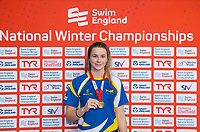 Picture by Allan McKenzie/SWpix.com - 17/12/2017 - Swimming - Swim England Nationals - Swim England National Championships - Ponds Forge International Sports Centre, Sheffield, England - Ciara Schlosshan with bronze in the womens 200m butterfly.