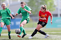 Action from the National Women's League football match between Canterbury and Central at English Park in Christchurch, New Zealand on Sunday, 11 November 2018. Photo: Martin Hunter/ lintottphoto.co.nz