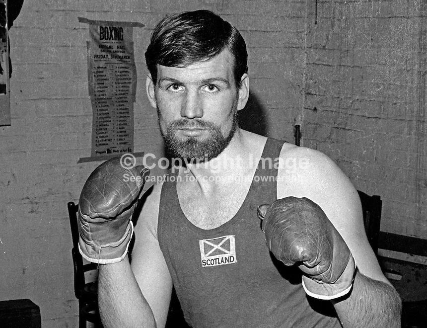 Ivan Christie, boxer, amateur, N Ireland, 13th March 1970, 197003130098<br /> <br /> Copyright Image from<br /> Victor Patterson<br /> 54 Dorchester Park<br /> Belfast, N Ireland, UK, <br /> BT9 6RJ<br /> <br /> t1: +44 28 90661296<br /> t2: +44 28 90022446<br /> m: +44 7802 353836<br /> e1: victorpatterson@me.com<br /> e2: victorpatterson@gmail.com<br /> <br /> www.victorpatterson.com