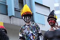 SÃO PAULO, SP, 14.04.2019: EVENTO-SP - A competição Red Bull Ladeira Abaixo é realizada em São Paulo. Com carros decorados de formas para lá de inusitadas, 64 equipes descem, individualmente, a Rua da Consolação com seus possantes sem motor neste domingo (14). (Foto: Jorge Bevilacqua/Código19)