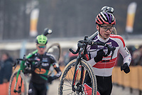 later winner David Van Der Poel (NED/Beobank Corendon) <br /> <br /> <br /> men's elite race<br /> Lampiris Zilvermeercross Mol / Belgium 2017