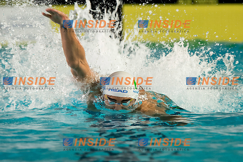 Filippo Magnini  Team Lombardia<br /> staffetta 4x100 stile libero uomini<br /> finali giorno 03<br /> Campionati Italiani Assoluti Nuoto Primaverili Fin UnipolSai<br /> Riccione Italy 14-18/04/2015<br /> Photo Giorgio Scala/Deepbluemedia/Insidefoto