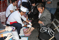 Los Angeles, CA - NOVEMBER 23: Antonio Villaraigosa, At Los Angeles Mission Thanksgiving Meal For The Homeless At Los Angeles Mission, California on November 23, 2016. Credit: Faye Sadou/MediaPunch