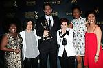 LOS ANGELES - May 1: The Talk, Sheryl Underwood, Sara Gilbert, Sharon Osbourne, Aisha Tyler, Julie Chen at The 43rd Daytime Emmy Awards Gala at the Westin Bonaventure Hotel on May 1, 2016 in Los Angeles, California