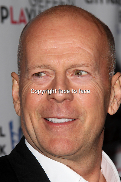 WESTWOOD, CA - December 05: Bruce Willis at the &quot;I'll Eat You Last: A Chat With Sue Mengers&quot; Opening Night, Geffen Playhouse, Westwood, December 05, 2013. <br /> Credit: MediaPunch/face to face<br /> - Germany, Austria, Switzerland, Eastern Europe, Australia, UK, USA, Taiwan, Singapore, China, Malaysia, Thailand, Sweden, Estonia, Latvia and Lithuania rights only -