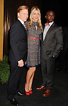WEST HOLLYWOOD, CA - DECEMBER 12: Ned Vaughn, Busy Philipps and Taye Diggs attend the 19th Annual Screen Actors Guild Awards Nominations Announcement at the Pacific Design Center on December 12, 2012 in West Hollywood, California.