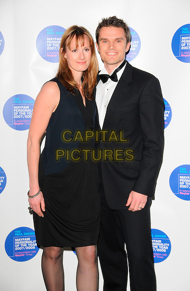 MATT ROBERTS & GUEST.Attends the Mayfair Personality Of The Year Awards,  Grosvenor House Hotel, London, England, March 12th 2008..half length .CAP/CAN.©Can Nguyen/Capital Pictures