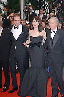 "Robert Pattinson and Juliette Binoche attending the ""Cosmopolis"" Premiere during the 65th annual International Cannes Film Festival in Cannes, France, 25.05.2012...Credit: Timm/face to face /MediaPunch Inc. ***FOR USA ONLY***"