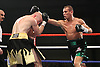 Jon Thaxton vs Anthony Mezaache for the European lightweight title at the  Norwich Showground, Norwich 28th February 2009