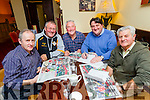Kerry's Eye Team of the year Judges, From left: Tim Slattery, Jack Hennessey, Jim O'Gorman, Sylvester Hennessey and Dan Dwyer.