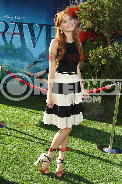 Bella Thorne at Film Independent's 2012 Los Angeles Film Festival Premiere of Disney Pixar's 'Brave' at Dolby Theatre on June 18, 2012 in Hollywood, California. ©mpi28/MediaPunch Inc. NORTEPHOTO.COM<br /> NORTEPHOTO.COM<br /> **SOLO*VENTA*EN*MEXICO**