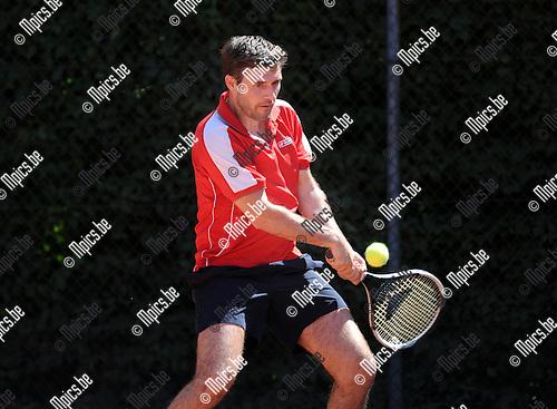 2013-07-21 / Tennis / seizoen 2013-2014 / Johnny Vanhentenrijk<br /><br />Foto: Mpics.be