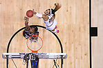 DALLAS, TX - APRIL 2: A'ja Wilson #22 of the South Carolina Gamecocks fight for the rebound during the 2017 Women's Final Four at American Airlines Center on April 2, 2017 in Dallas, Texas. (Photo by Justin Tafoya/NCAA Photos via Getty Images)