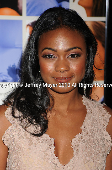"""HOLLYWOOD, CA. - April 19: Tatyana Ali arrives at the Los Angeles Premiere of """"Mother And Child"""" at the Egyptian Theatre on April 19, 2010 in Hollywood, California."""